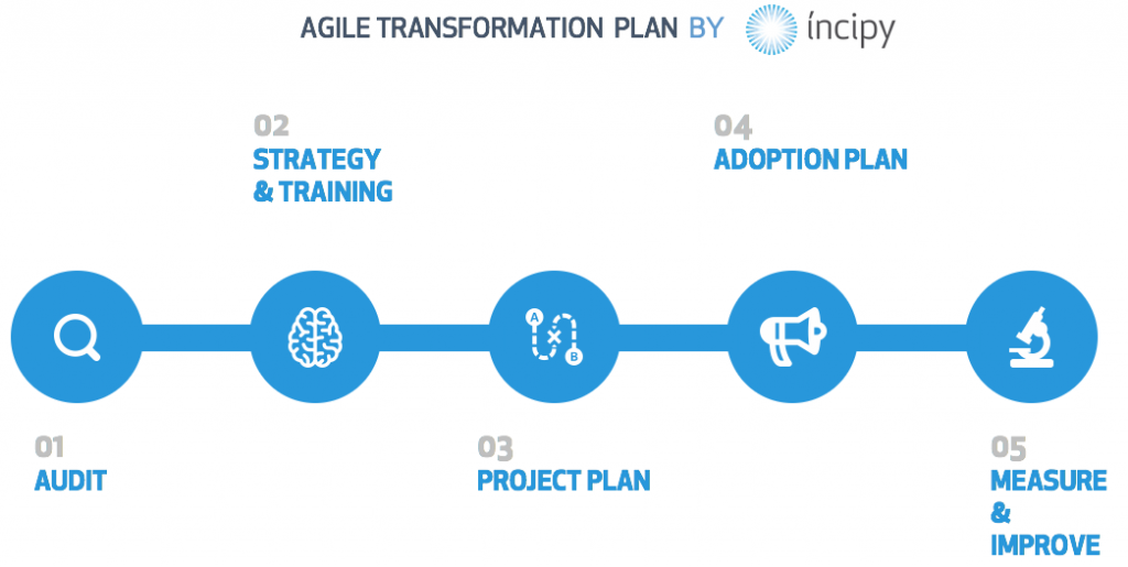 agile transformation incipy