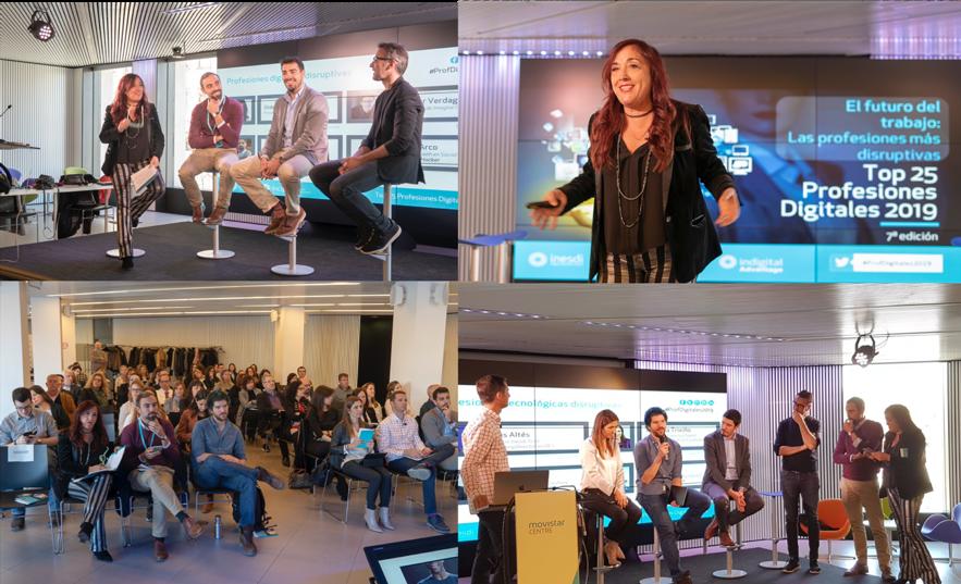 Incipy Las profesiones digitales más buscadas top 25 evento ponentes