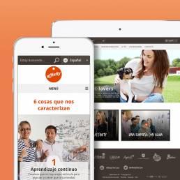 affinity_employer caso exito incipy activo web app