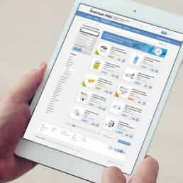 INCIPY casosde exito americandent nuevo modelo b2b web ipad