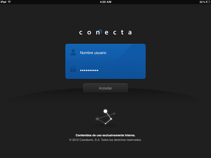 connecta la caixa incipy caso de exito ipad red social login