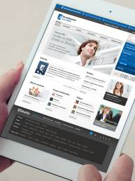 INCIPY casos de exito deusto customer intelligence crm y captacion alumnos ordenador web ipad