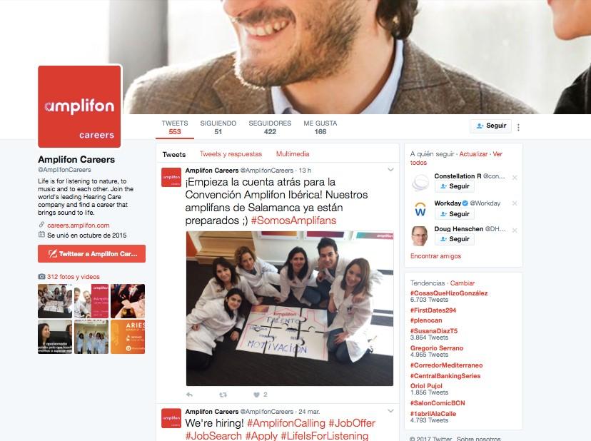 Social Recruitment_1 incipy amplifon twitter