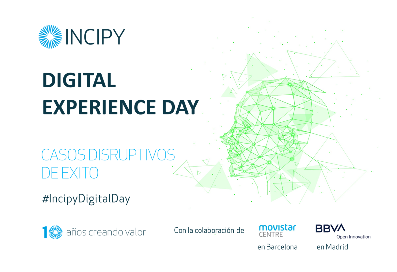 Incipy Digital Experience Day Casos Disruptivos